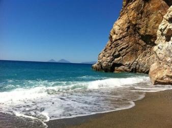 L´affascinante spiaggia<br />di Capo Calavà